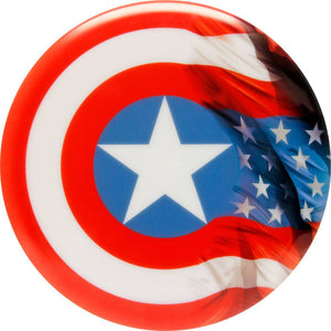 Dynamic Discs Marvel Captain America DyeMax Windy Flag Fuzion Justice Midrange Golf Disc