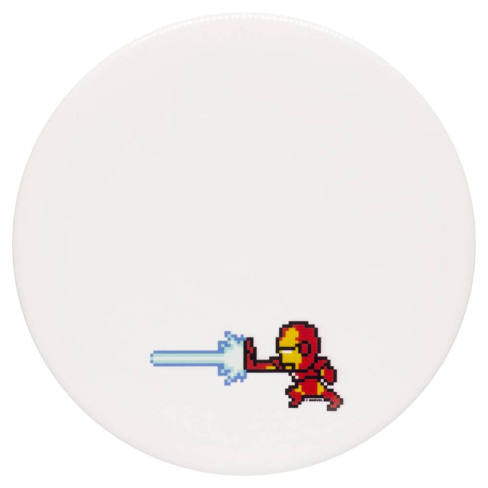 Dynamic Discs Marvel Iron Man DyeMax 8-Bit Fuzion Judge Putter Golf Disc