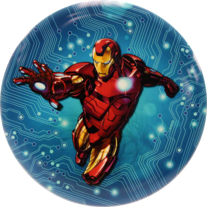 Dynamic Discs Marvel Iron Man DyeMax Blue Circuit Fuzion Warden Putter Golf Disc