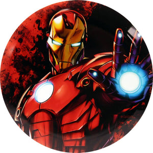 Dynamic Discs Marvel Iron Man DyeMax Close and Personal Fuzion Suspect Midrange Golf Disc