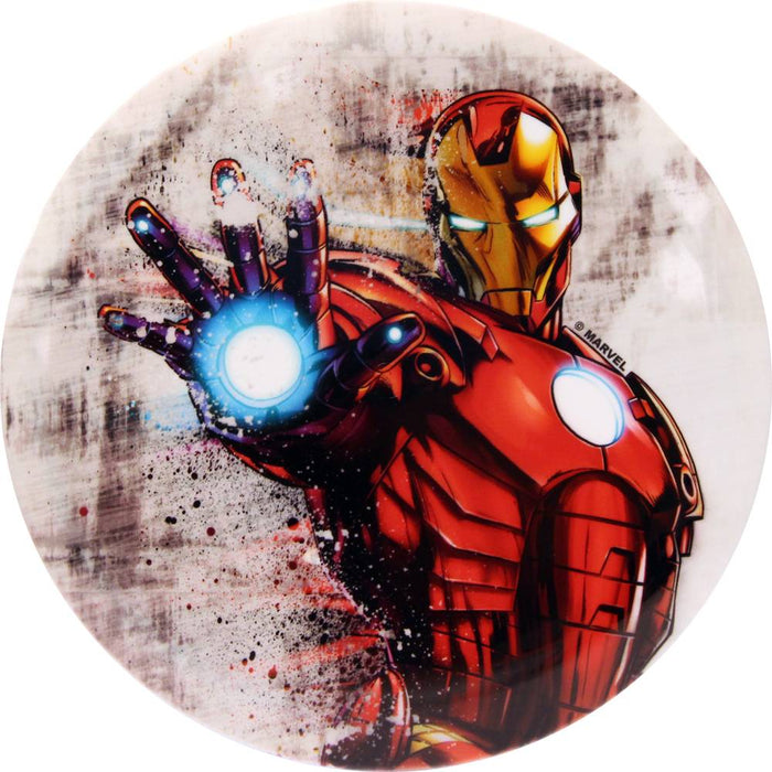 Dynamic Discs Marvel Iron Man DyeMax Ink Dispersion Fuzion Warden Putter Golf Disc
