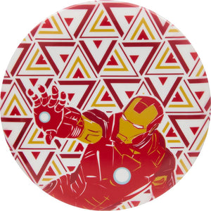 Dynamic Discs Marvel Iron Man DyeMax Panorama Fuzion Felon Fairway Driver Golf Disc