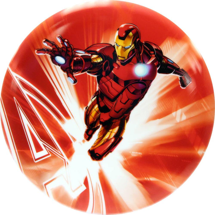 Dynamic Discs Marvel Iron Man DyeMax Red Flare Fuzion Warden Putter Golf Disc