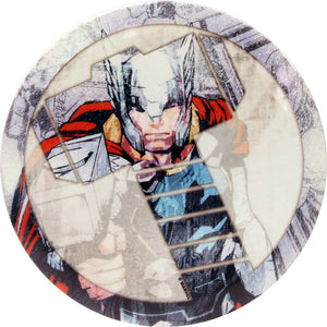Dynamic Discs Marvel Thor DyeMax Hammer Collage Fuzion Suspect Midrange Golf Disc