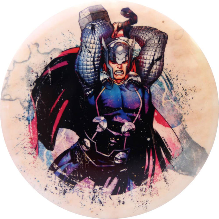 Dynamic Discs Marvel Thor DyeMax Splatter Series Fuzion Warden Putter Golf Disc