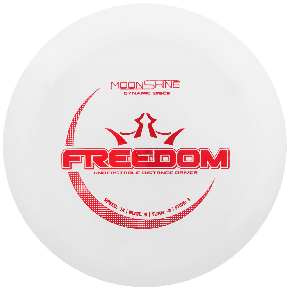 Dynamic Discs Moonshine Glow Lucid Freedom Distance Driver Golf Disc