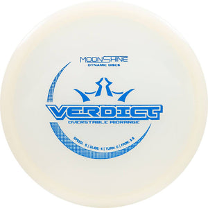 Dynamic Discs Moonshine Glow Lucid Verdict Midrange Golf Disc