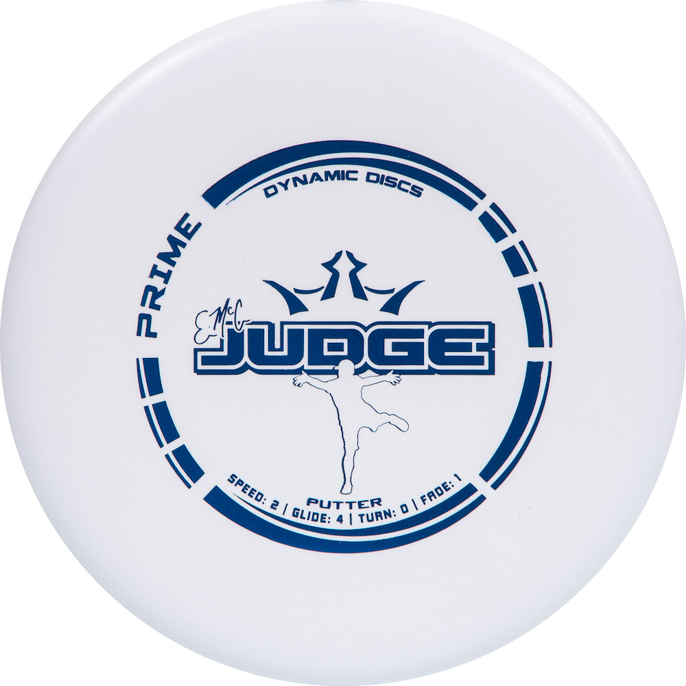 Dynamic Discs Prime EMAC Judge Putter Golf Disc