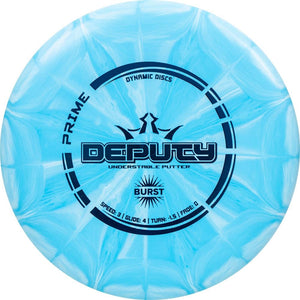 Dynamic Discs Prime Burst Deputy Putter Golf Disc