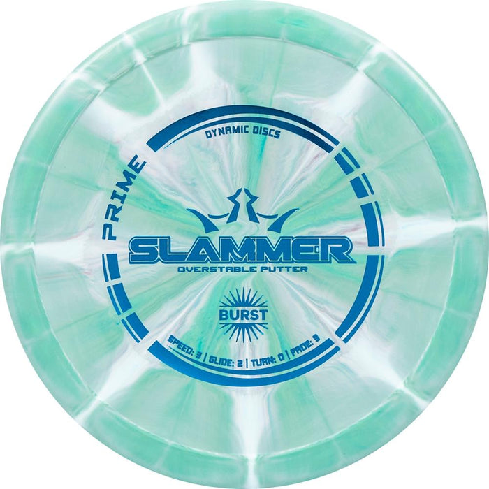Dynamic Discs Prime Burst Slammer Putter Golf Disc