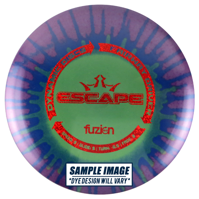 Dynamic Discs MyDye BioFuzion Escape Fairway Driver Golf Disc