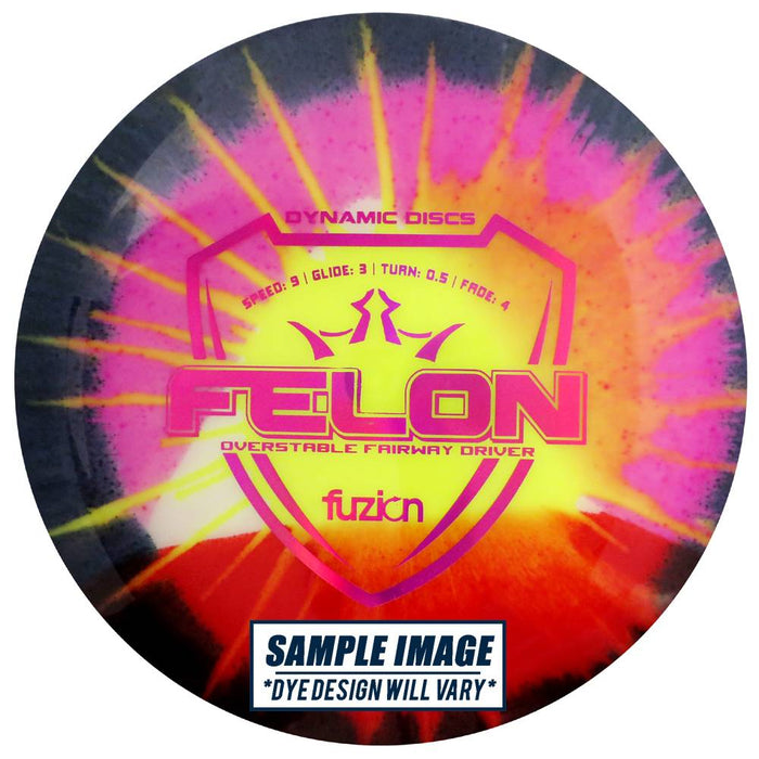 Dynamic Discs MyDye Fuzion Felon Fairway Driver Golf Disc