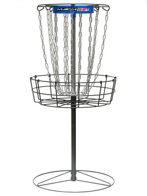 DGA Mach Shift 3-in-1 16-Chain Portable Disc Golf Practice Basket