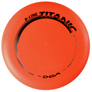 DGA D-Line Titanic Putter Golf Disc