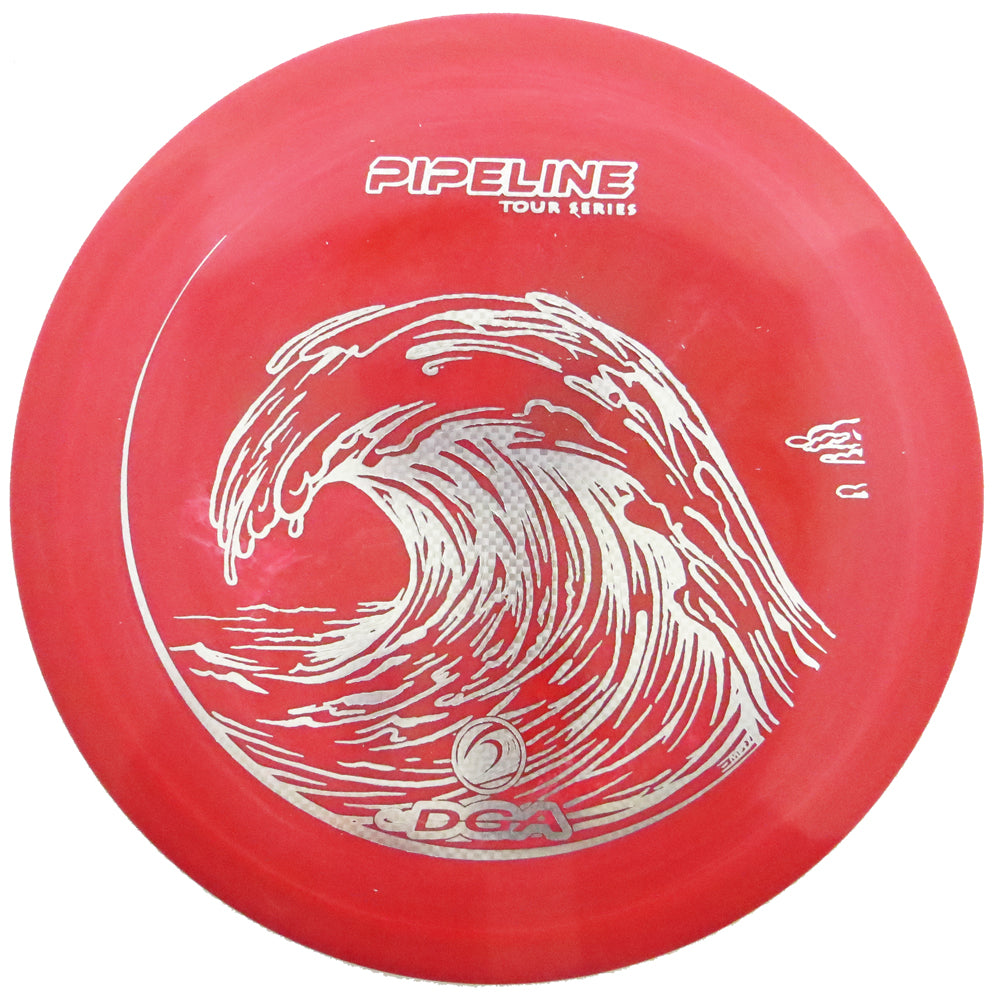 DGA Limited Edition 2019 Tour Series Swirly Proline Flex Pipeline Fairway Driver Golf Disc