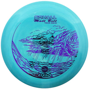 DGA Limited Edition 2019 Tour Series Matt Bell Swirly Proline Flex Squall Midrange Golf Disc