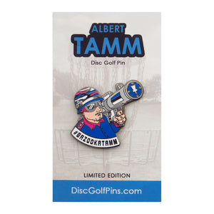 Disc Golf Pins Albert Tamm Series 1 Enamel Disc Golf Pin