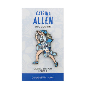 Disc Golf Pins Catrina Allen Series 2 Enamel Disc Golf Pin