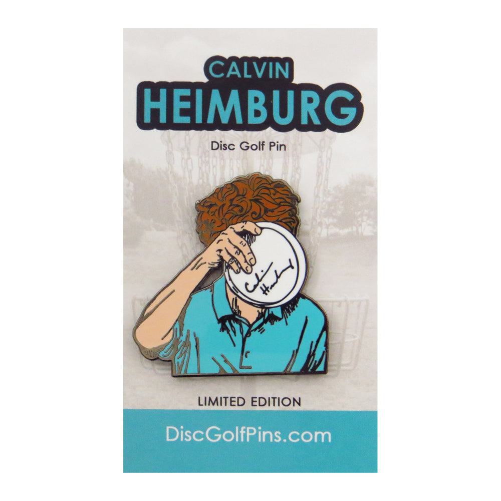 Disc Golf Pins Calvin Heimburg Series 1 Enamel Disc Golf Pin