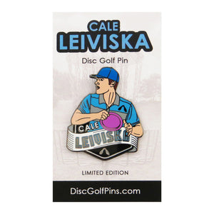 Disc Golf Pins Cale Leiviska Series 1 Enamel Disc Golf Pin