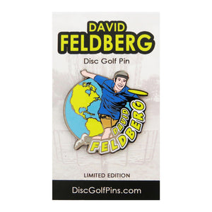 Disc Golf Pins David Feldberg Series 1 Enamel Disc Golf Pin