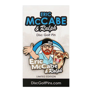 Disc Golf Pins Eric McCabe & Ralph Series 1 Enamel Disc Golf Pin