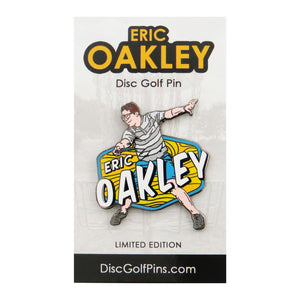 Disc Golf Pins Eric Oakley Series 1 Enamel Disc Golf Pin