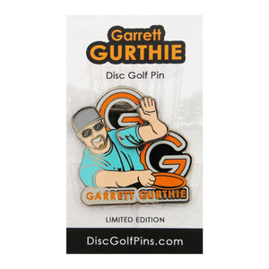 Disc Golf Pins Garrett Gurthie Series 1 Enamel Disc Golf Pin