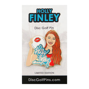Disc Golf Pins Holly Finley Series 1 Enamel Disc Golf Pin