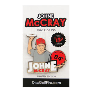 Disc Golf Pins JohnE McCray Series 1 Enamel Disc Golf Pin