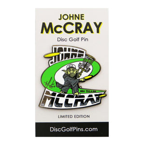 Disc Golf Pins JohnE McCray Series 2 Enamel Disc Golf Pin