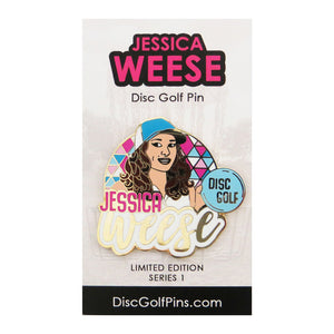 Disc Golf Pins Jessica Weese Series 1 Enamel Disc Golf Pin
