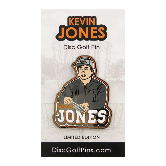 Disc Golf Pins Kevin Jones Series 1 Enamel Disc Golf Pin
