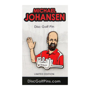 Disc Golf Pins Michael Johansen Series 1 Enamel Disc Golf Pin
