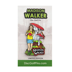 Disc Golf Pins Madison Walker Series 1 Enamel Disc Golf Pin