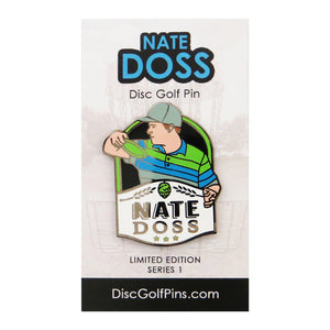 Disc Golf Pins Nate Doss Series 1 Enamel Disc Golf Pin