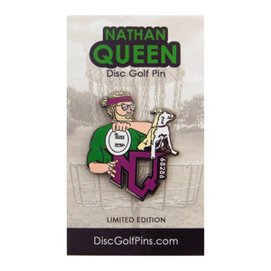 Disc Golf Pins Nathan Queen Series 1 Enamel Disc Golf Pin