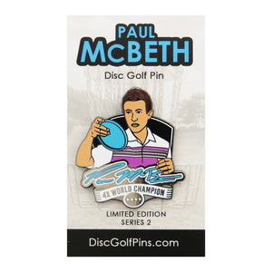 Disc Golf Pins Paul McBeth Series 2 Enamel Disc Golf Pin