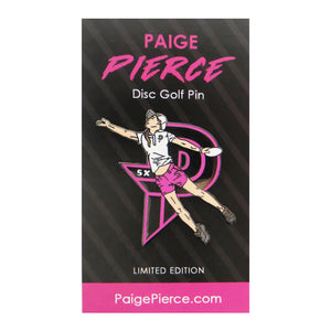 Disc Golf Pins Paige Pierce Series 2 Enamel Disc Golf Pin