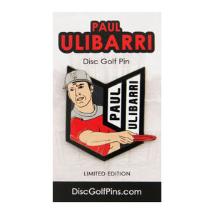 Disc Golf Pins Paul Ulibarri Series 1 Enamel Disc Golf Pin