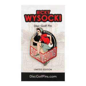 Disc Golf Pins Ricky Wysocki Series 1 Enamel Disc Golf Pin