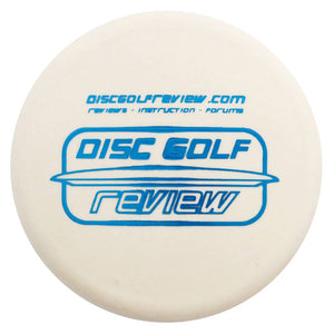 Disc Golf Review Logo Inter-Locking Mini Marker Disc