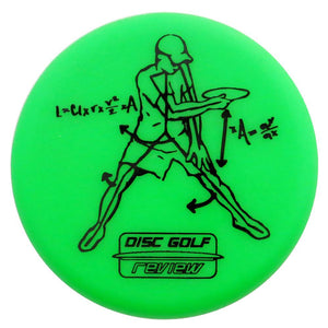 Disc Golf Review Thrower Inter-Locking Mini Marker Disc