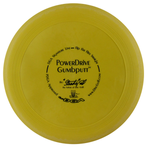 DGA Signature Line Powerdrive Gumbputt Putter Golf Disc