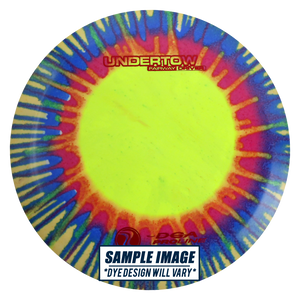 DGA Tie-Dye Proline Undertow Fairway Driver Golf Disc