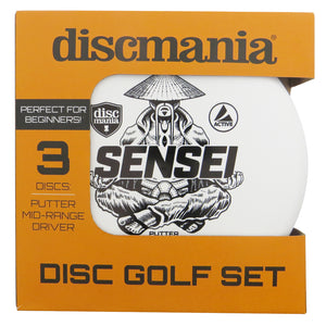 Discmania Active Line 3-Disc Beginner Disc Golf Set