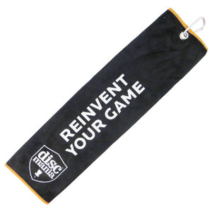 Discmania Reinvent Your Game Towel