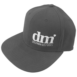Discmania DM Logo Cotton Twill Snapback Disc Golf Hat