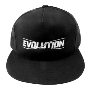 Discmania Evolution Logo Snapback Mesh Trucker Disc Golf Hat
