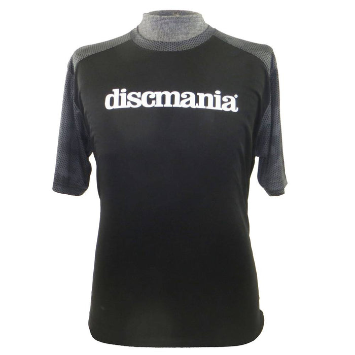 Discmania Bar Stamp Logo Tech Performance Short Sleeve Disc Golf T-Shirt